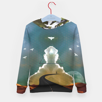 Miniatur Enlightenment Kid's sweater, Live Heroes