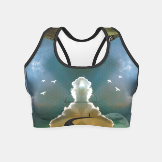 Enlightenment Crop Top Bild der Miniatur