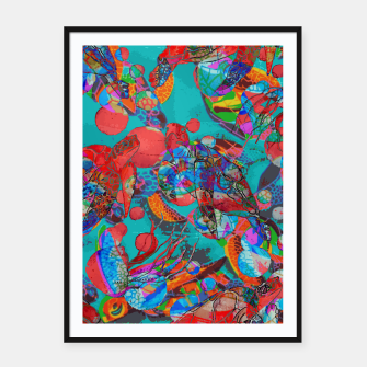 Thumbnail image of Sea Turtle Rhapsody Framed poster, Live Heroes