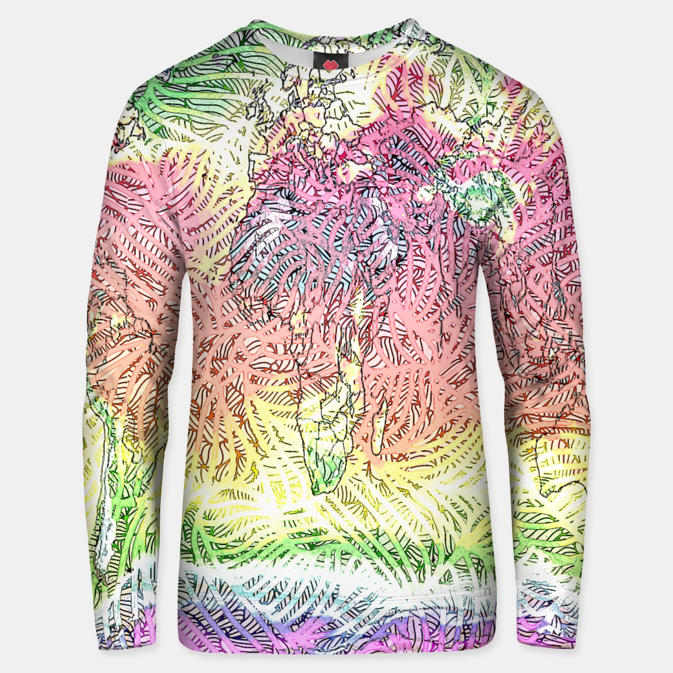 Image of world Cotton sweater - Live Heroes