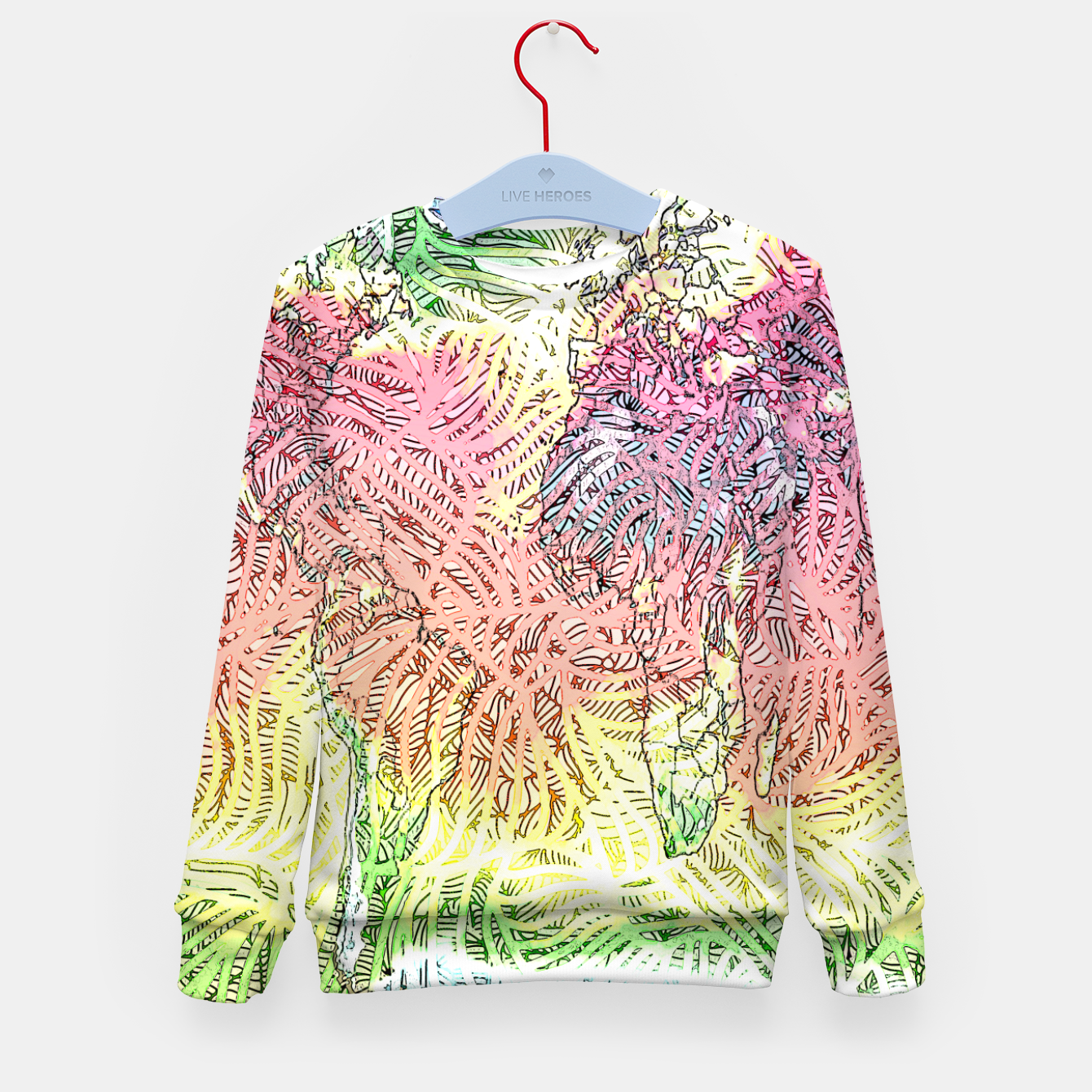 Image of world Kid's sweater - Live Heroes