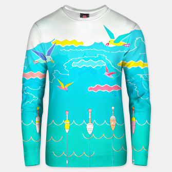 Thumbnail image of Seagulls  Cotton sweater, Live Heroes