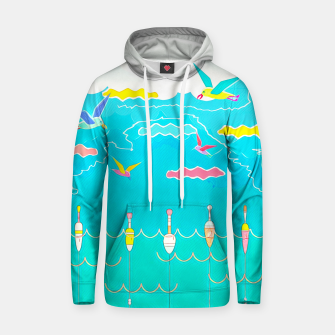 Thumbnail image of Seagulls  Cotton hoodie, Live Heroes
