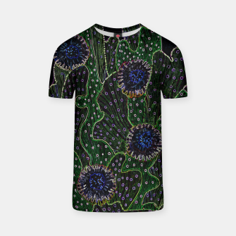Thumbnail image of Blooming Cactus, Black & Neon T-shirt, Live Heroes