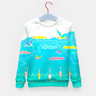 Thumbnail image of Seagulls  Kid's sweater, Live Heroes