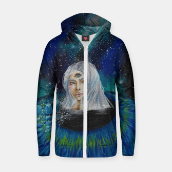Imagen en miniatura de I FOUND THE EXIT Cotton zip up hoodie, Live Heroes