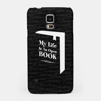 Thumbnail image of My Life Is An Open Book Samsung Case, Live Heroes