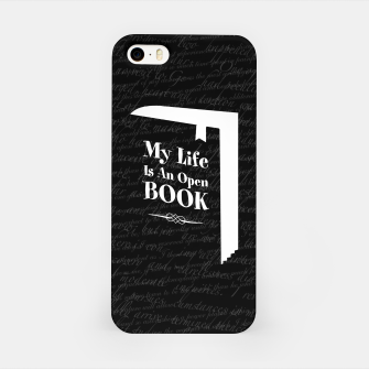 Thumbnail image of My Life Is An Open Book iPhone Case, Live Heroes
