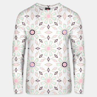 Thumbnail image of Modern gold Moroccan geometric flower marble image  Cotton sweater, Live Heroes