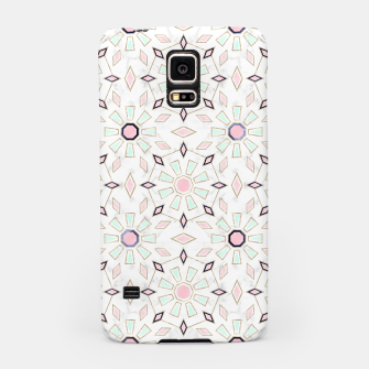 Thumbnail image of Modern gold Moroccan geometric flower marble image  Samsung Case, Live Heroes