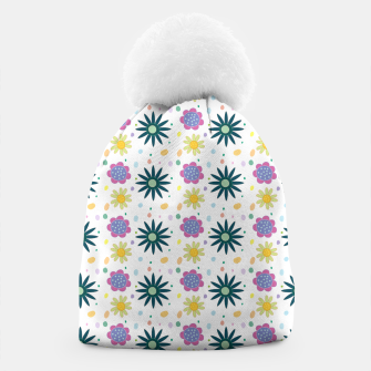Thumbnail image of Hand drawn floral pattern Gorro, Live Heroes