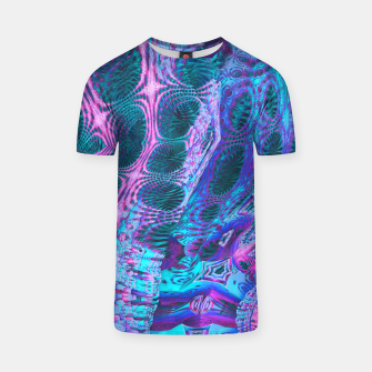 Thumbnail image of Space corals T-shirt, Live Heroes