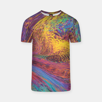 Thumbnail image of Rainbow flow T-shirt, Live Heroes