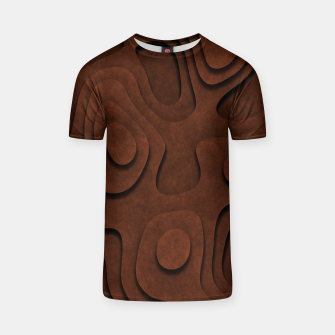 Thumbnail image of Layered Rusty Red T-shirt, Live Heroes
