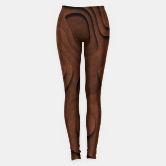 Thumbnail image of Layered Rusty Red Leggings, Live Heroes