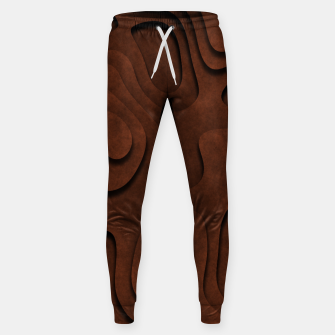 Thumbnail image of Layered Rusty Red Cotton sweatpants, Live Heroes