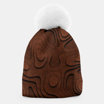 Thumbnail image of Layered Rusty Red Beanie, Live Heroes
