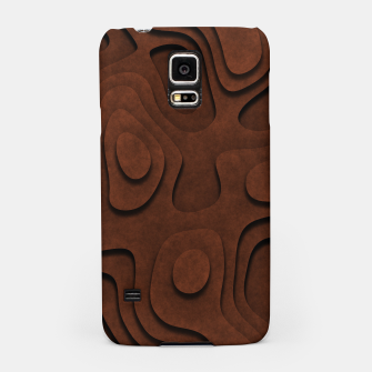 Thumbnail image of Layered Rusty Red Samsung Case, Live Heroes