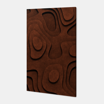 Thumbnail image of Layered Rusty Red Canvas, Live Heroes