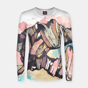 Thumbnail image of Solitary Beach Woman cotton sweater, Live Heroes