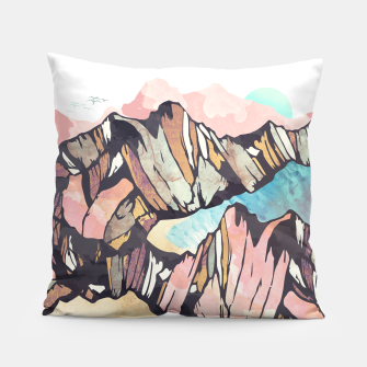 Thumbnail image of Solitary Beach Pillow, Live Heroes