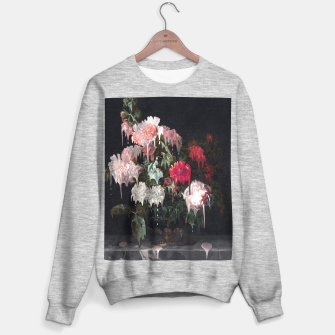 Miniatur Floral Melt Sweater regular, Live Heroes