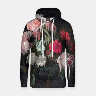 Thumbnail image of Floral Melt Cotton hoodie, Live Heroes