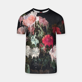 Thumbnail image of Floral Melt T-shirt, Live Heroes