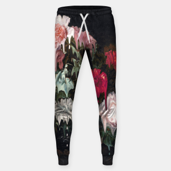 Miniatur Floral Melt Cotton sweatpants, Live Heroes