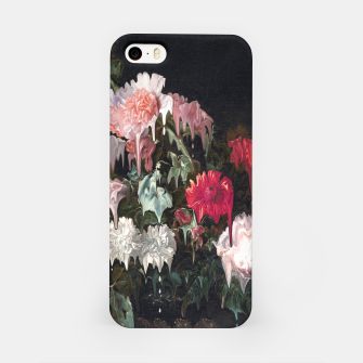 Miniatur Floral Melt iPhone Case, Live Heroes