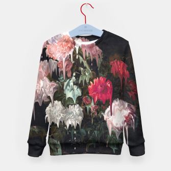 Miniatur Floral Melt Kid's sweater, Live Heroes