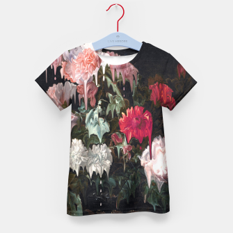 Thumbnail image of Floral Melt Kid's t-shirt, Live Heroes