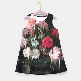 Miniatur Floral Melt Girl's summer dress, Live Heroes