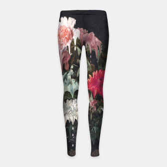 Thumbnail image of Floral Melt Girl's leggings, Live Heroes