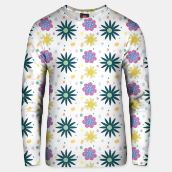 Thumbnail image of Hand drawn floral pattern Sudadera de algodón, Live Heroes