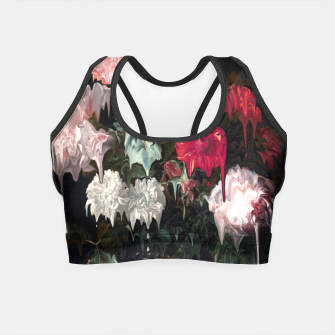 Thumbnail image of Floral Melt Crop Top, Live Heroes