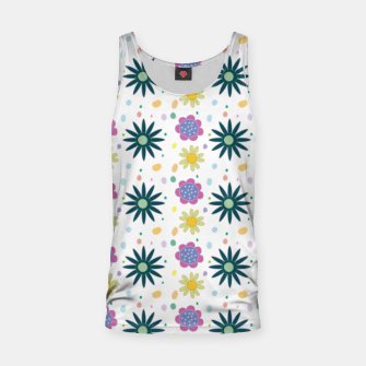 Thumbnail image of Hand drawn floral pattern Camiseta de tirantes, Live Heroes