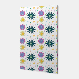 Thumbnail image of Hand drawn floral pattern Canvas, Live Heroes