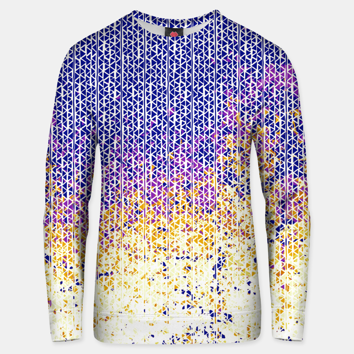 Image of fire Cotton sweater - Live Heroes