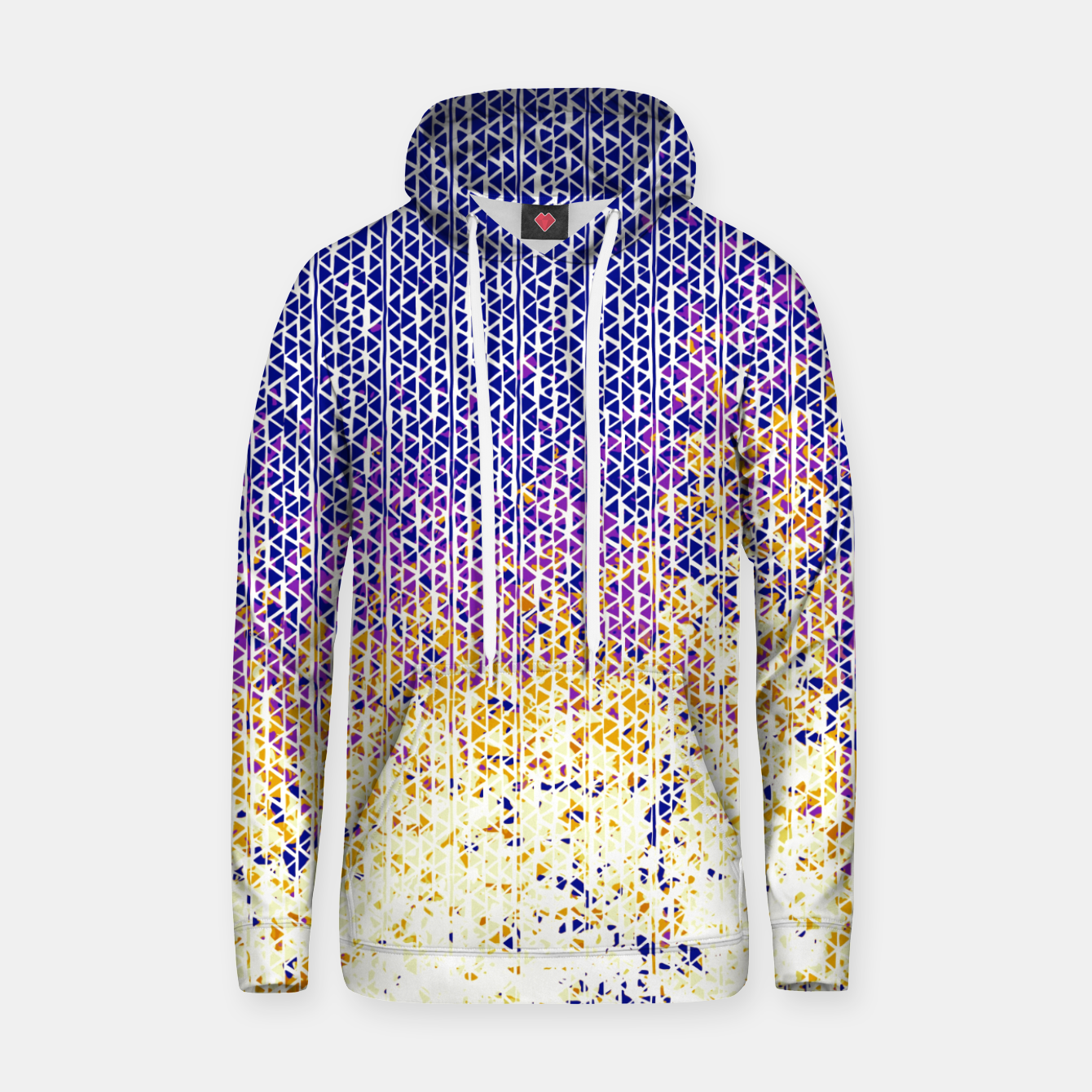 Image of fire Cotton hoodie - Live Heroes