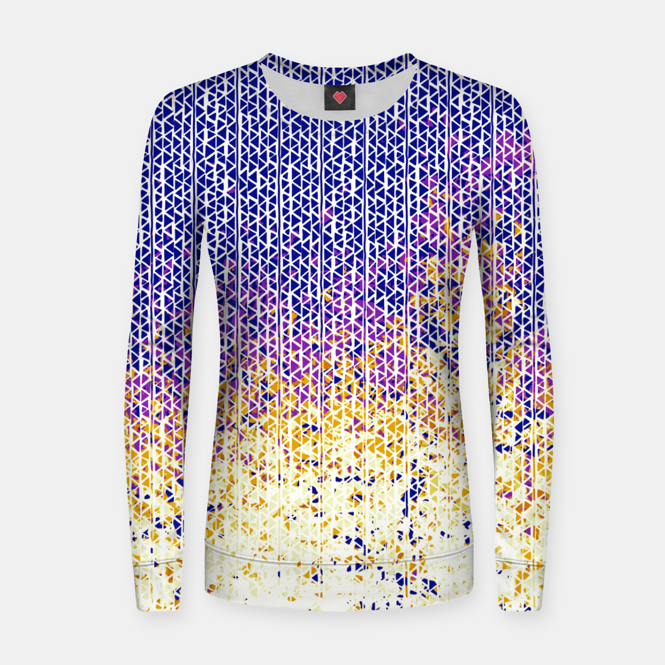 Image of fire Woman cotton sweater - Live Heroes