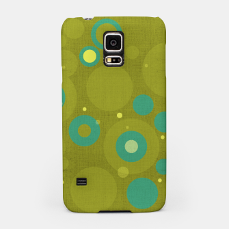 "Miniaturka ""Retro Dots Colorful Olive and Teal"" Carcasa por Samsung, Live Heroes"