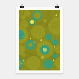 "Miniaturka ""Retro Dots Colorful Olive and Teal"" Cartel, Live Heroes"