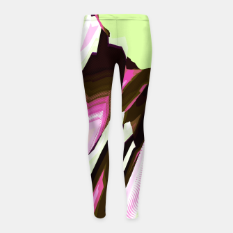 Thumbnail image of NEW WAVE Girl's leggings, Live Heroes