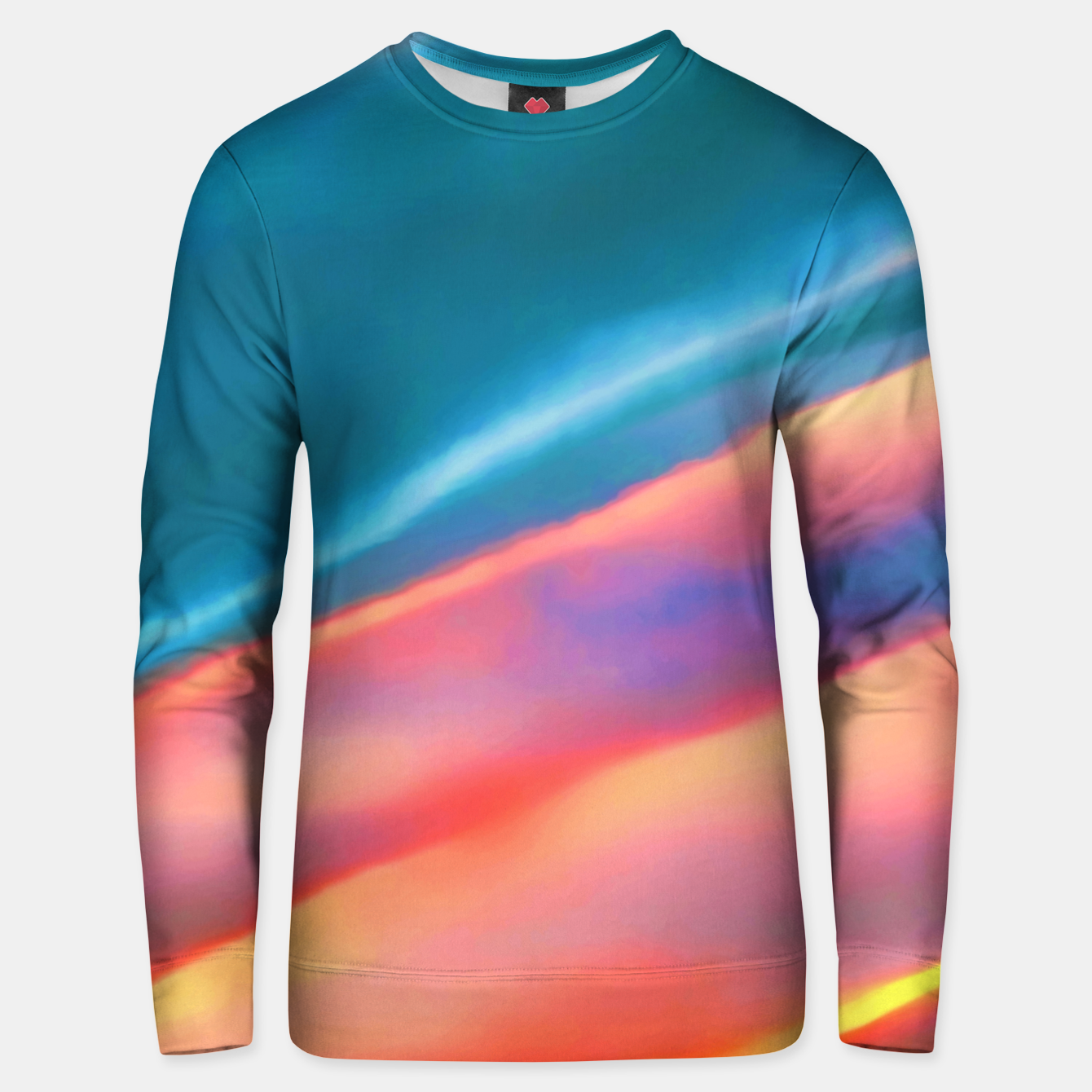 Zdjęcie Merging #abstract #decor #art #liveheroes |  Cotton sweater - Live Heroes