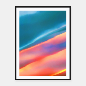 Miniaturka Merging #abstract #decor #art #liveheroes |  Framed poster, Live Heroes