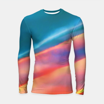 Miniaturka Merging #abstract #decor #art #liveheroes |  Longsleeve rashguard , Live Heroes