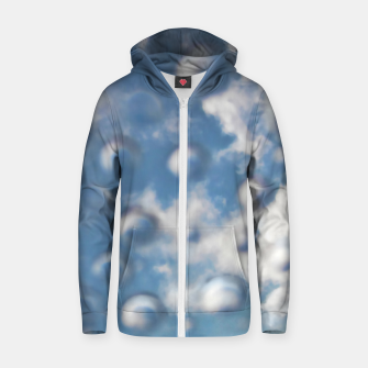 Miniaturka Skybubbles #nature #abstract #art #liveheroes |  Cotton zip up hoodie, Live Heroes