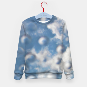 Skybubbles #nature #abstract #art #liveheroes |  Kid's sweater obraz miniatury