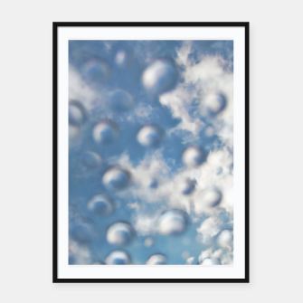 Skybubbles #nature #abstract #art #liveheroes |  Framed poster obraz miniatury